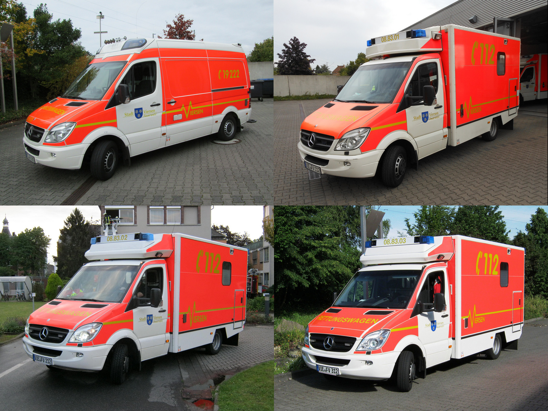 Rettungsdienst der FF Viersen