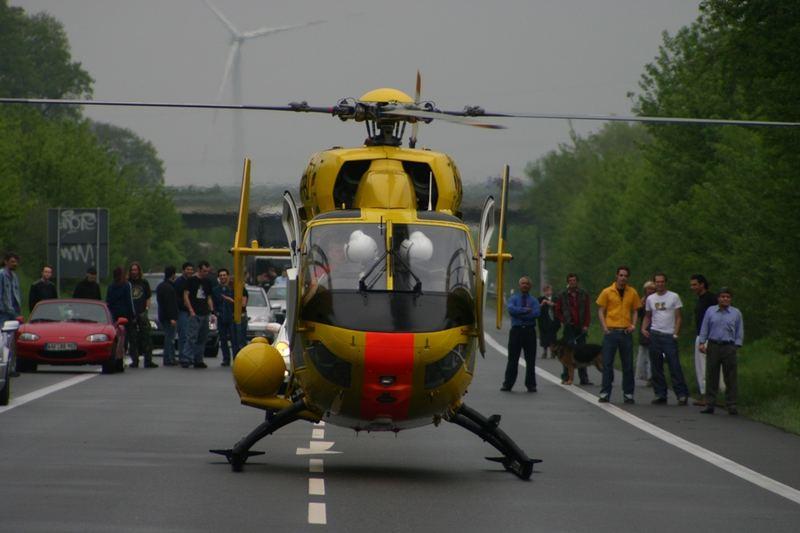 Rettungshubschrauber Christoph Westfalen