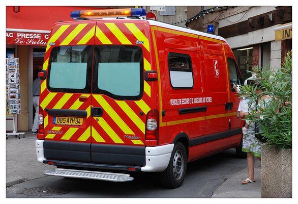 Rettungswagen aus Frankreich