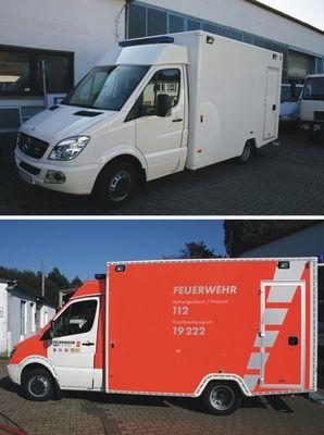 Rettungswagen Wuppertal