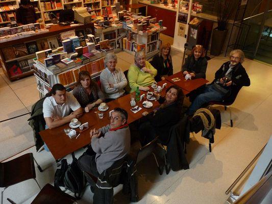 REUNION DEL GRUPO FOTOCOMMUNITY EN EL CENTRO CULTURAL DE LA COOPERACION EN BUENOS AIRES
