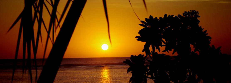 Reunion's sunset