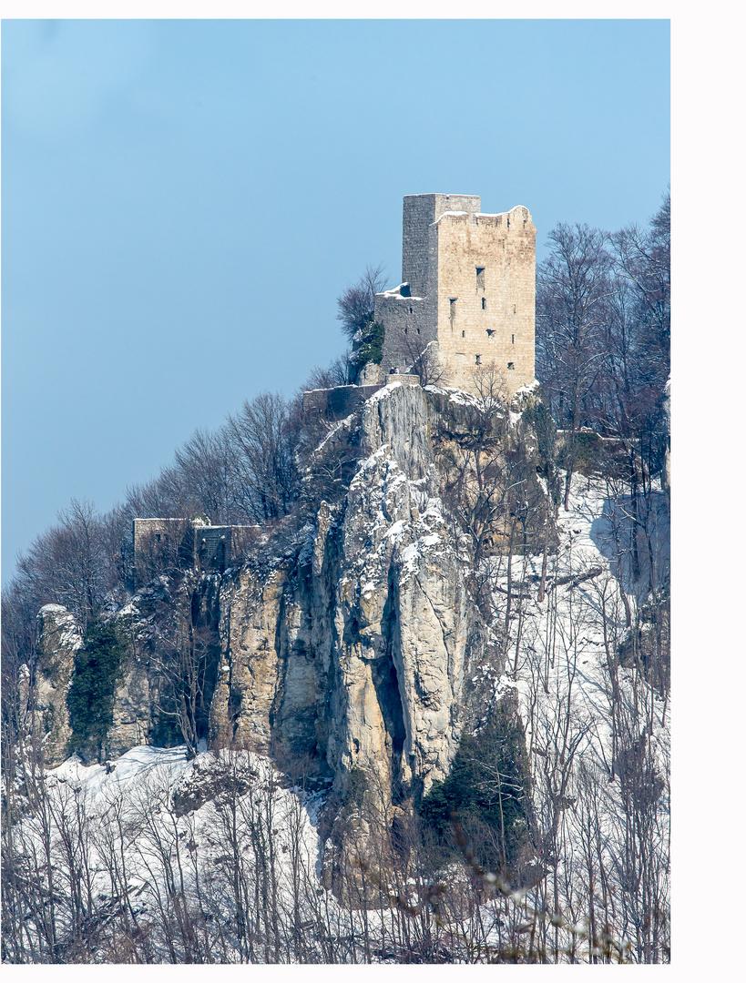 Reußenstein im Winter I