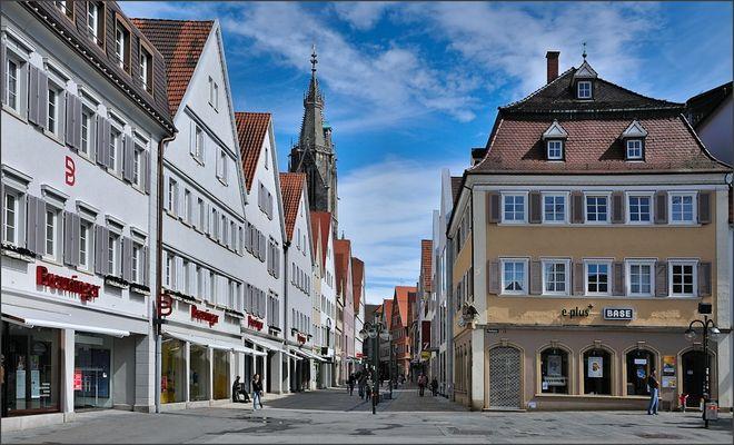 Reutlingen - Fußgängerzone 2012