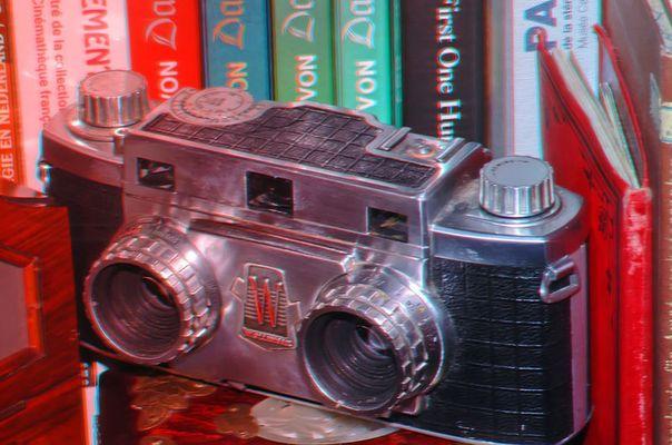 Revere Stereokamera (rot-cyan)