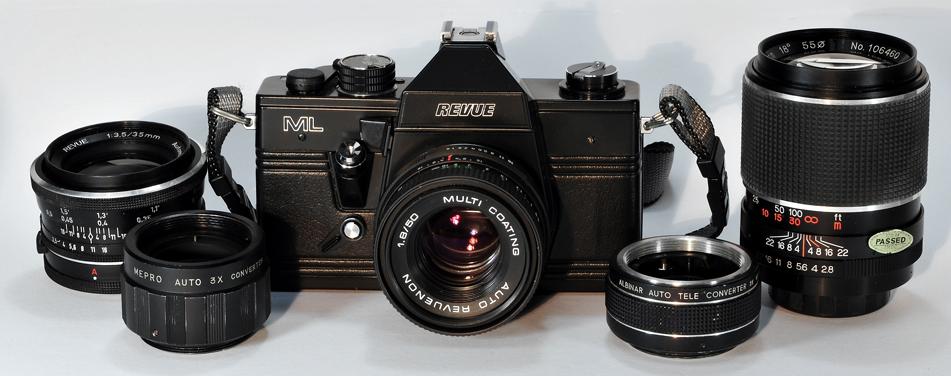 REVUE ML Spiegelreflex Kamera