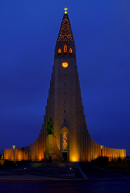 Reykjaviks Hallgrímskirkja
