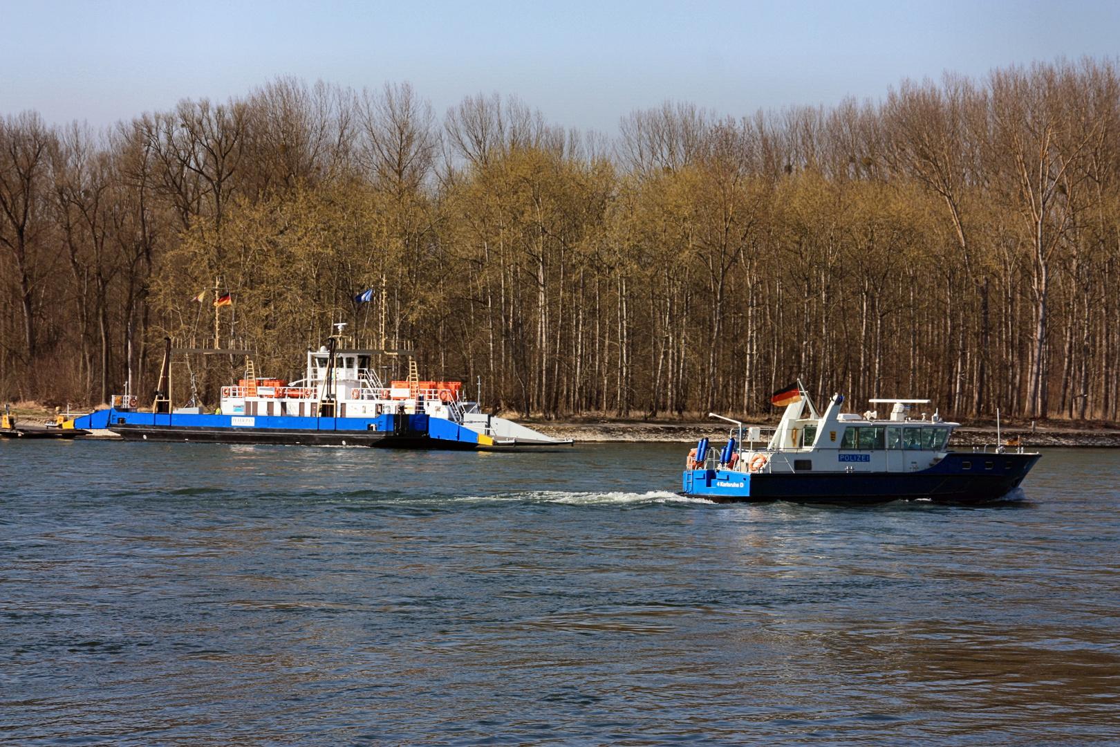 Rhein-Fähre Peter Pan