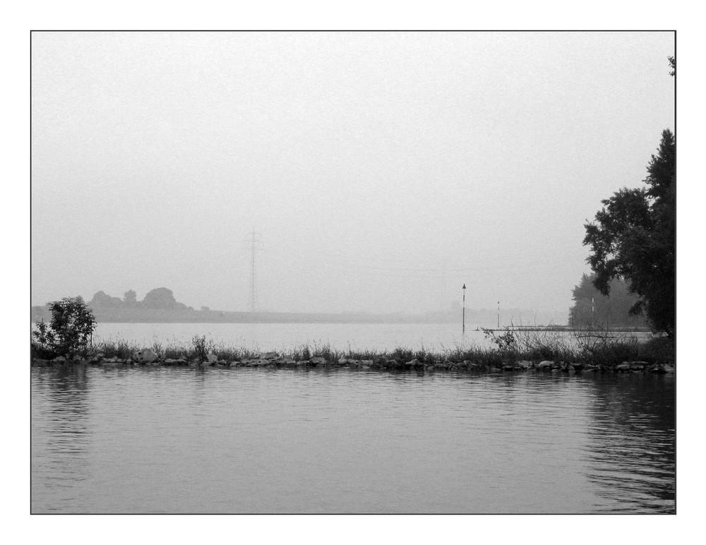 Rhein gar nichts