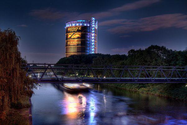 Rhein-Herne-Kanal vs. Gasometer HDR