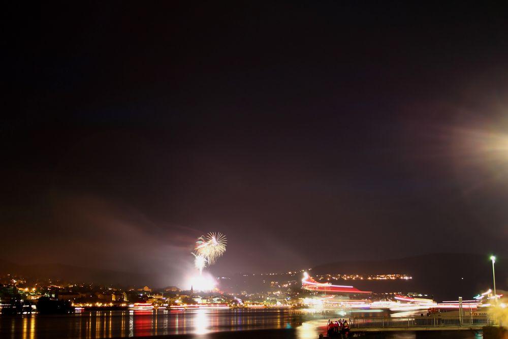 Rhein im Feuerzauber von sebastian83