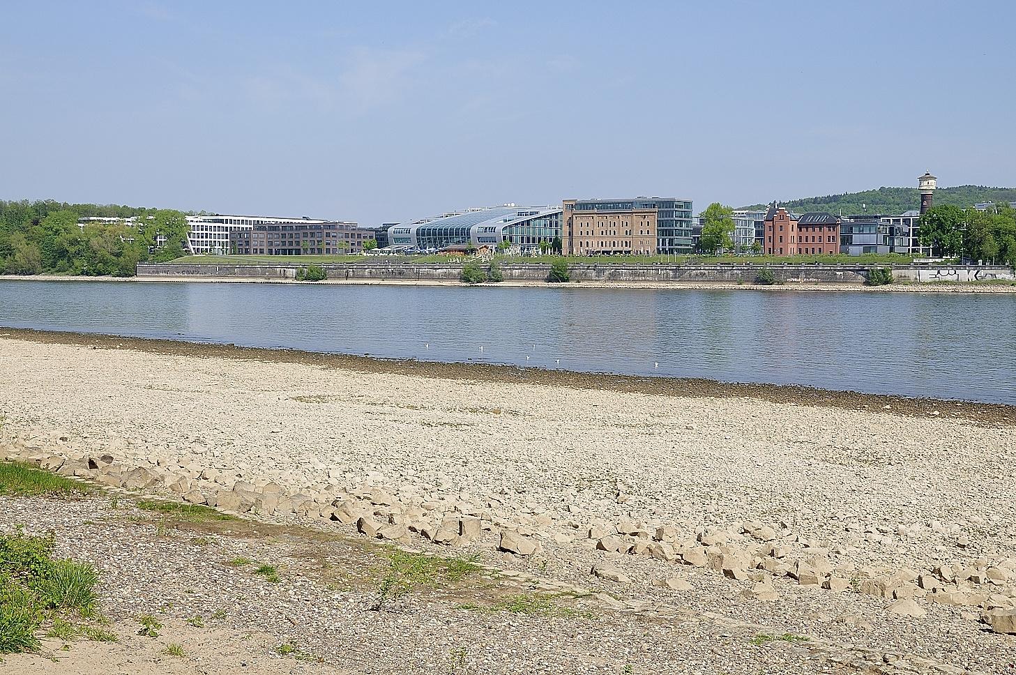 Rhein in Bonn