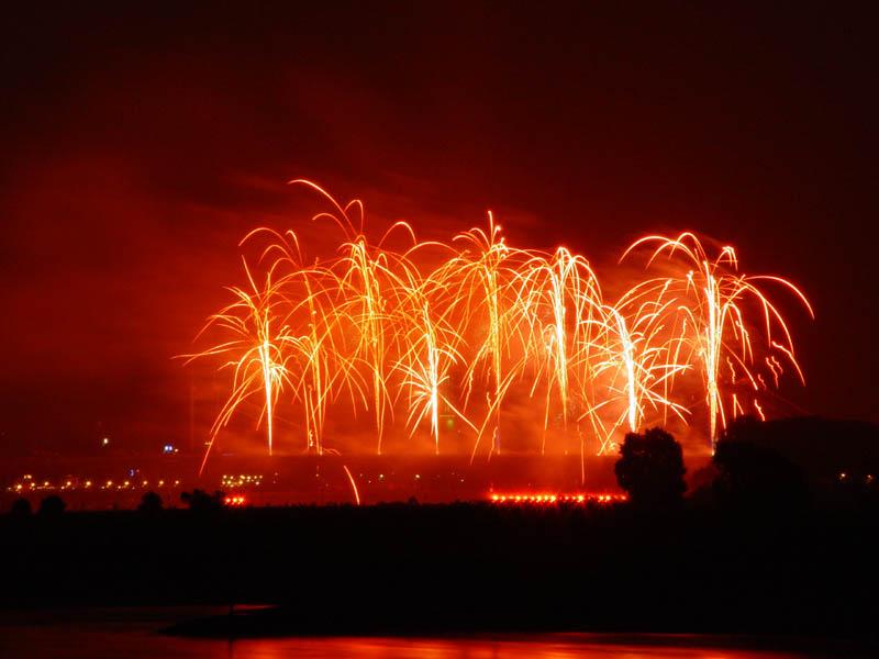 Rhein in Flammen 1