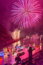 Rhein in Flammen Oberwesel 2014 (2)