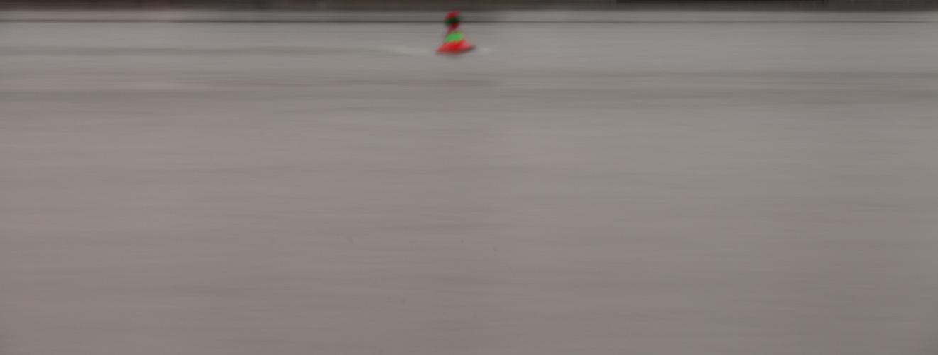 Rhein mit Boje