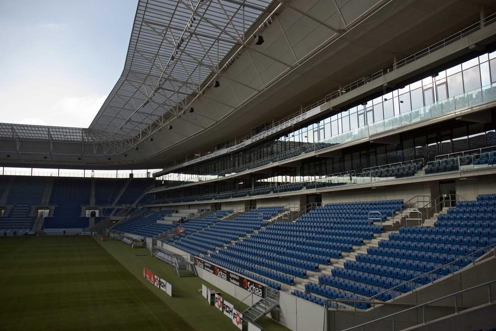 Rhein-Neckar-Arena Sinsheim...