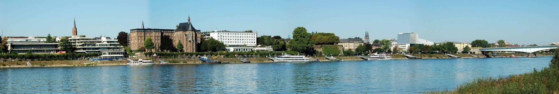 Rhein-Panorama bei Bonn