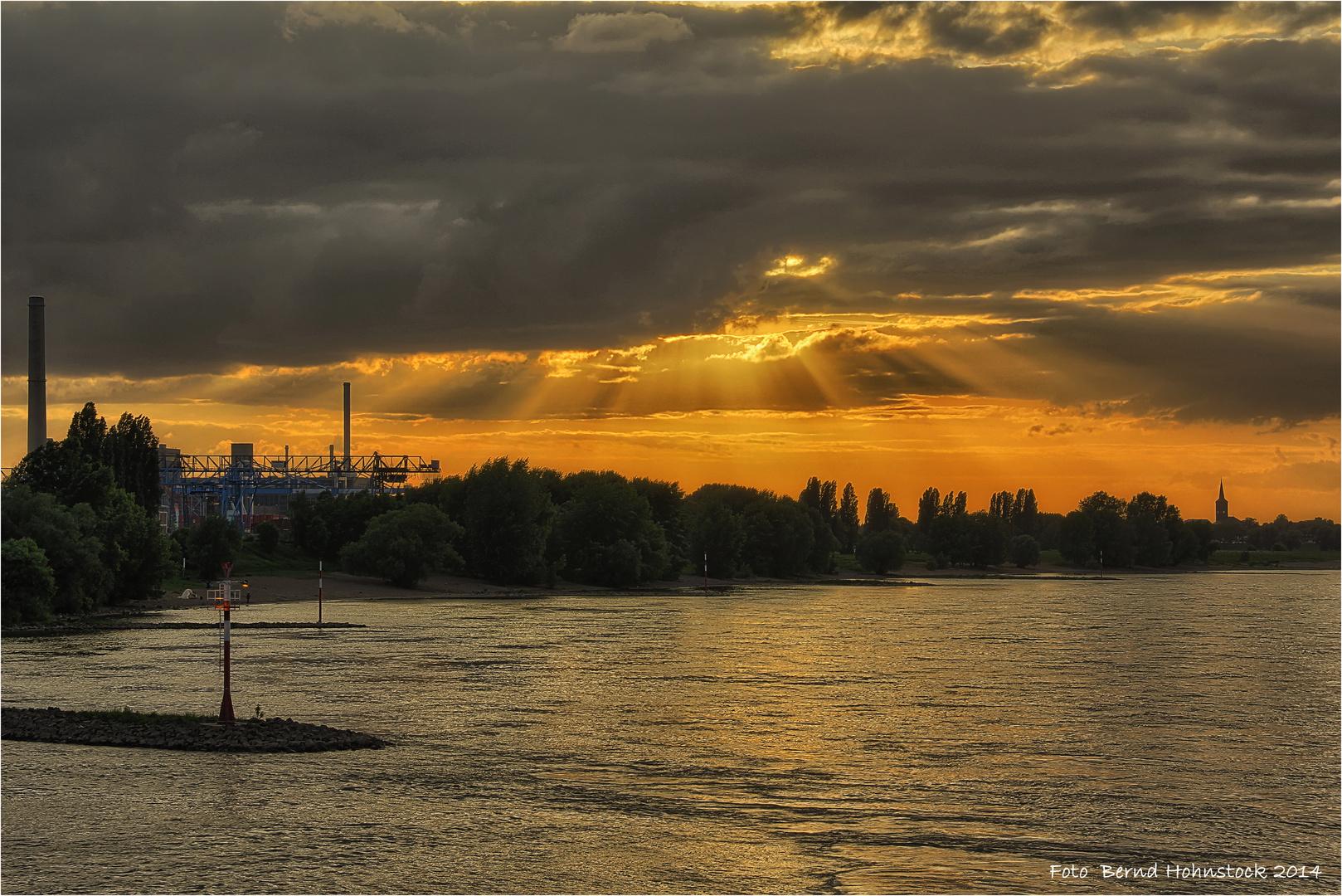 Rheinabend .... in Düsseldorf.