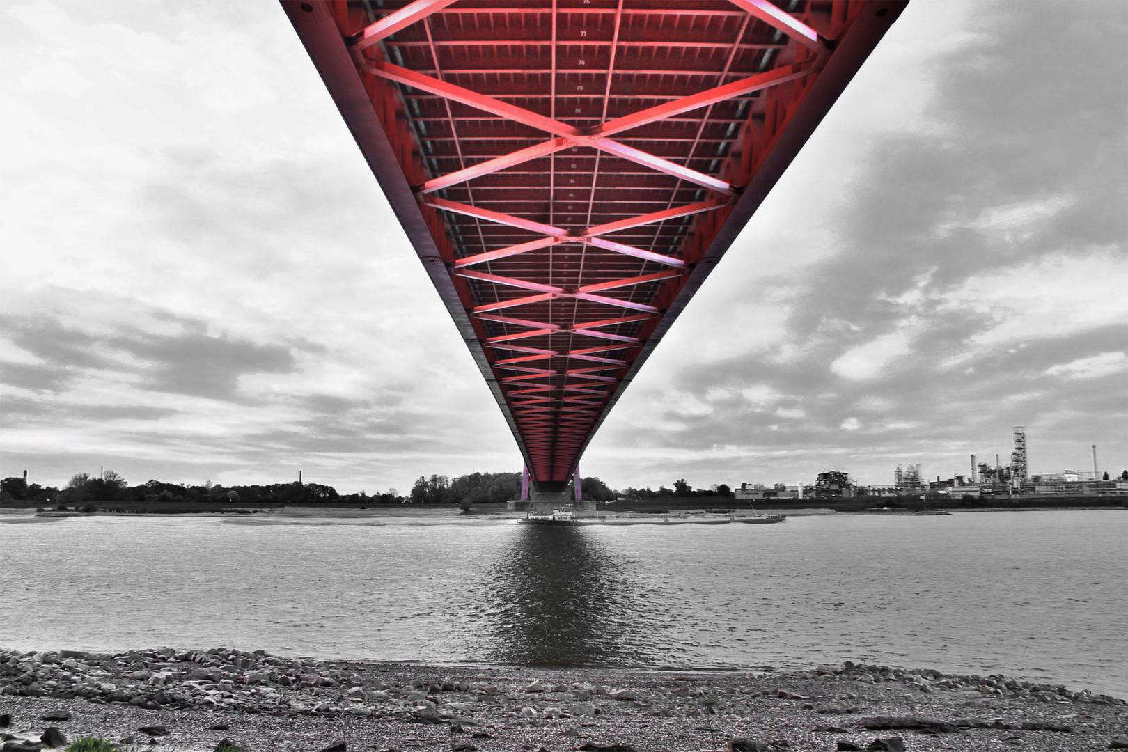 Rheinbrücke bei Emmerich 2