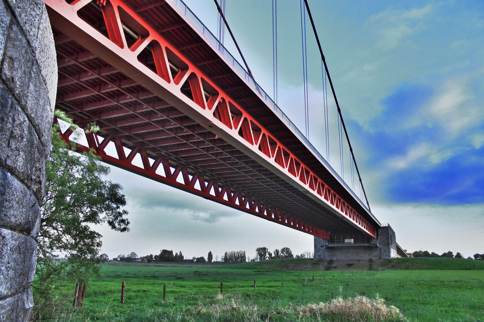 Rheinbrücke bei Emmerich 4