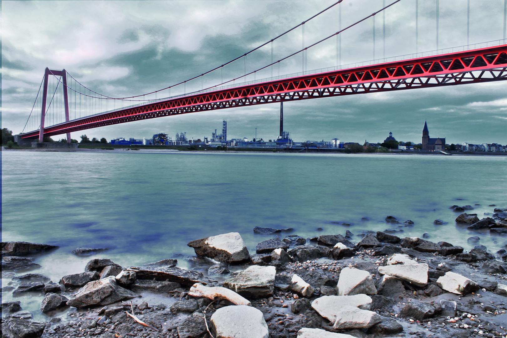 Rheinbrücke bei Emmerich 5