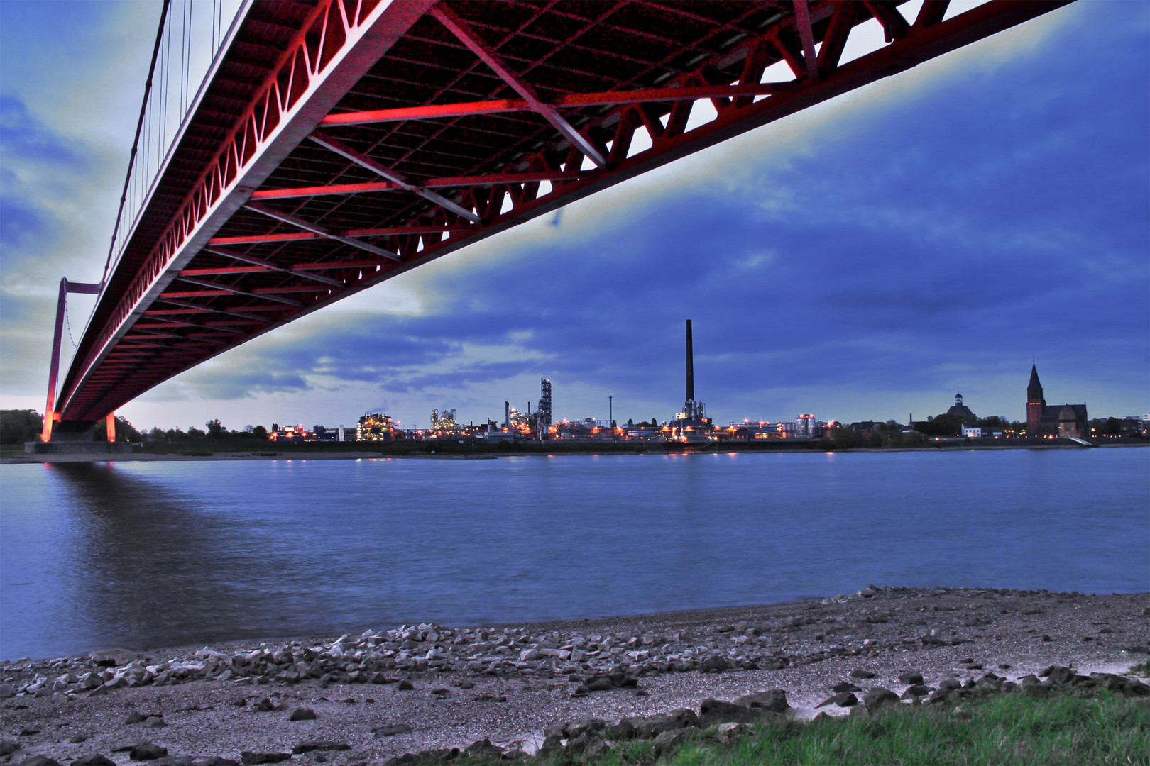 Rheinbrücke bei Emmerich 6