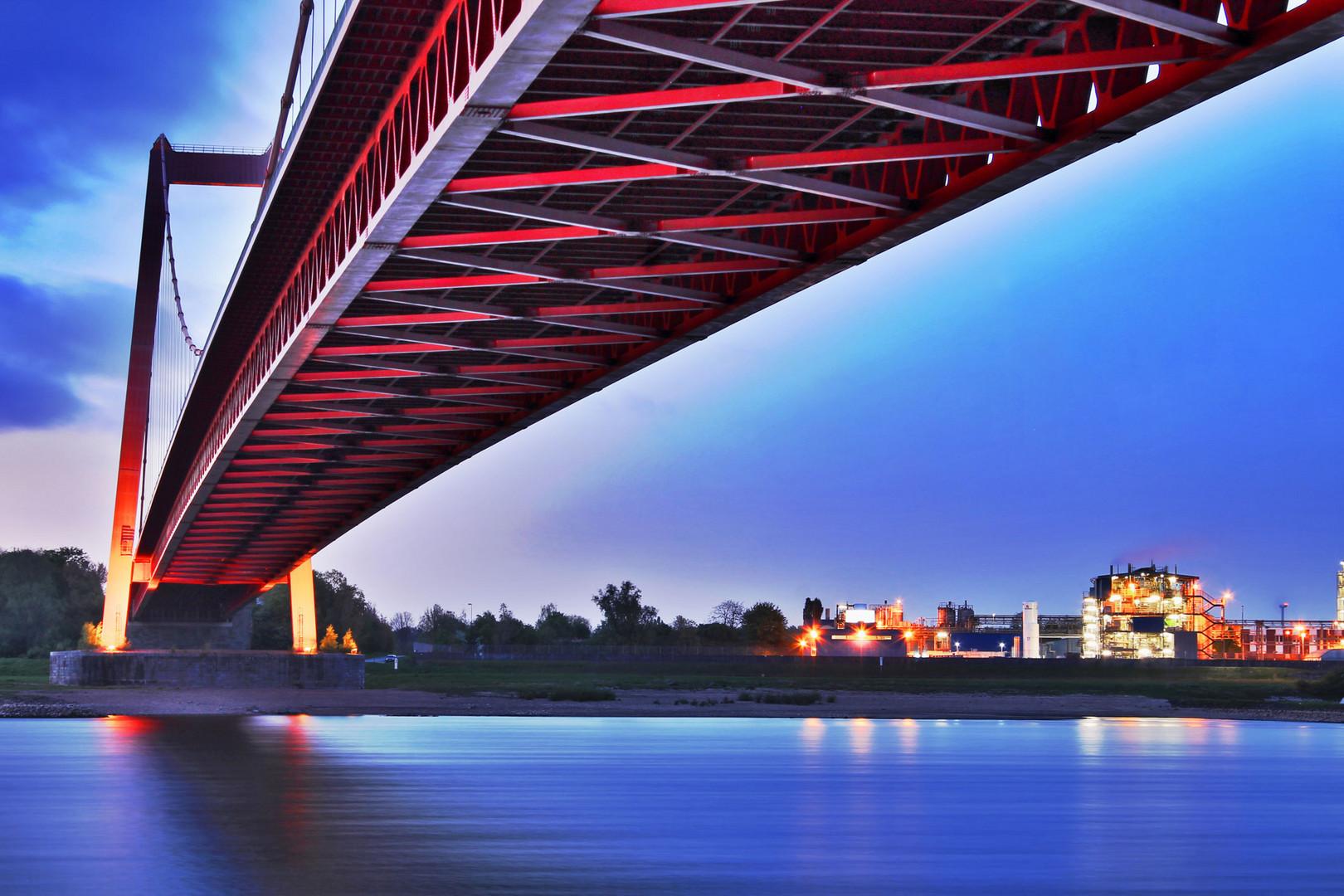 Rheinbrücke bei Emmerich 7
