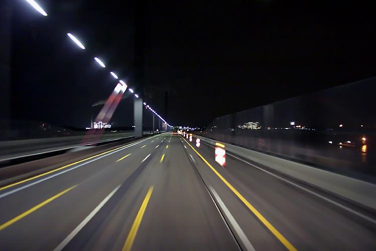 Rheinbrücke bei KA