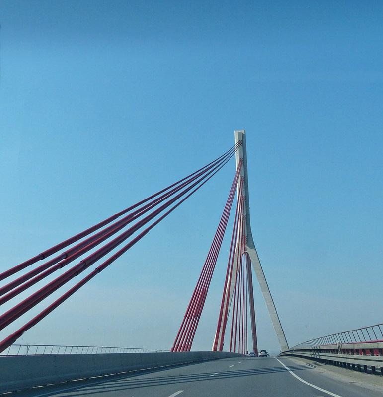 Rheinbrücke bei Kleve