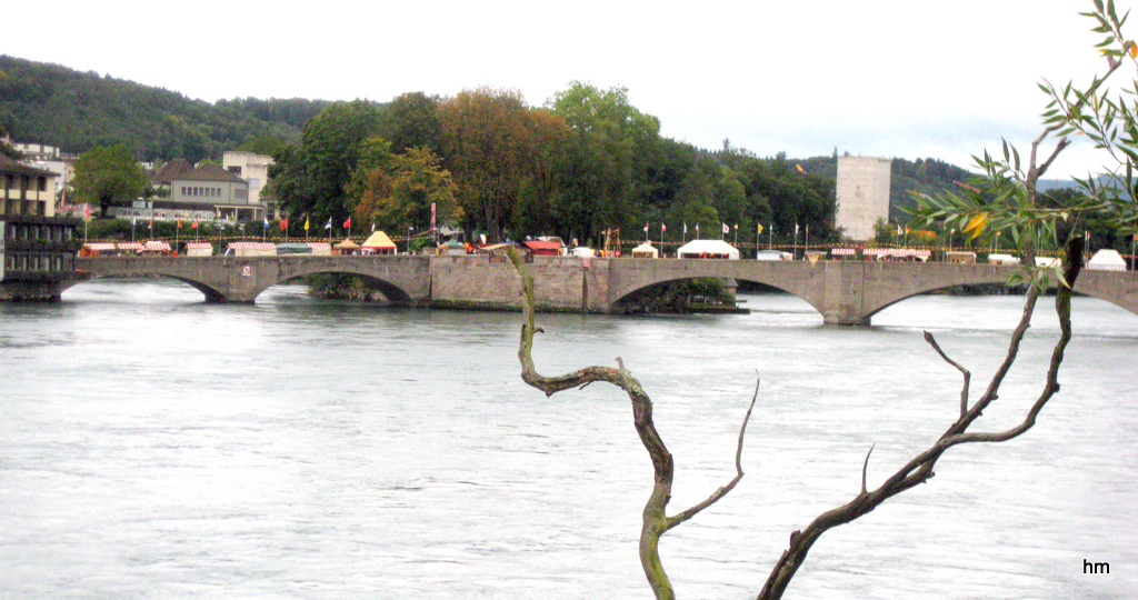 Rheinbrücke in Rheinfelden