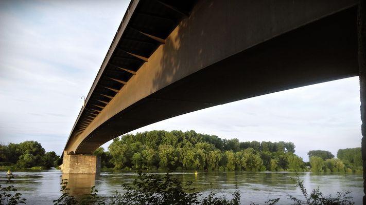 Rheinbrücke in Speyer