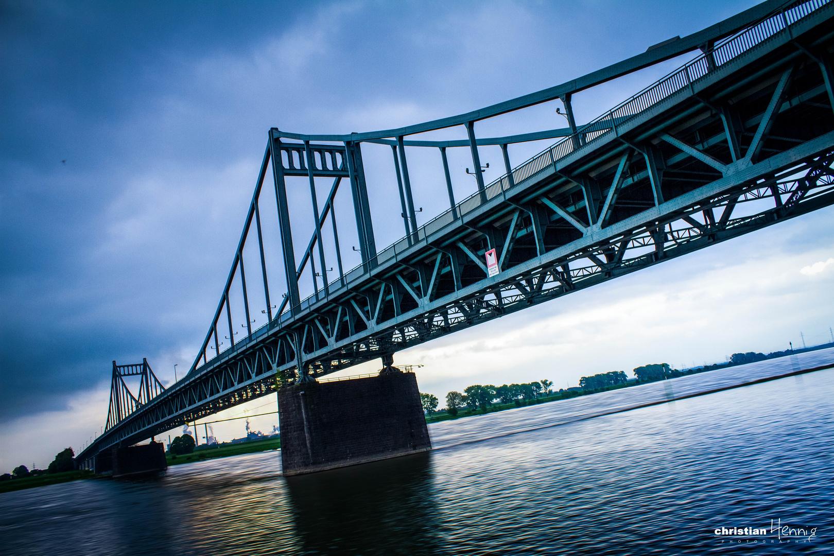 Rheinbrücke Krefeld Uerdingen 2