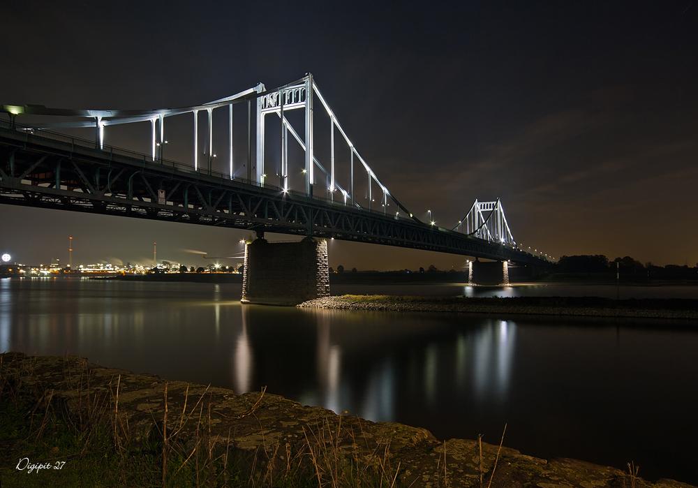 Rheinbrücke Krefeld Uerdingen 3