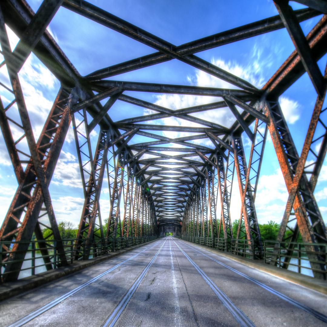 Rheinbrücke Wintersdorf / Pont de Beinheim