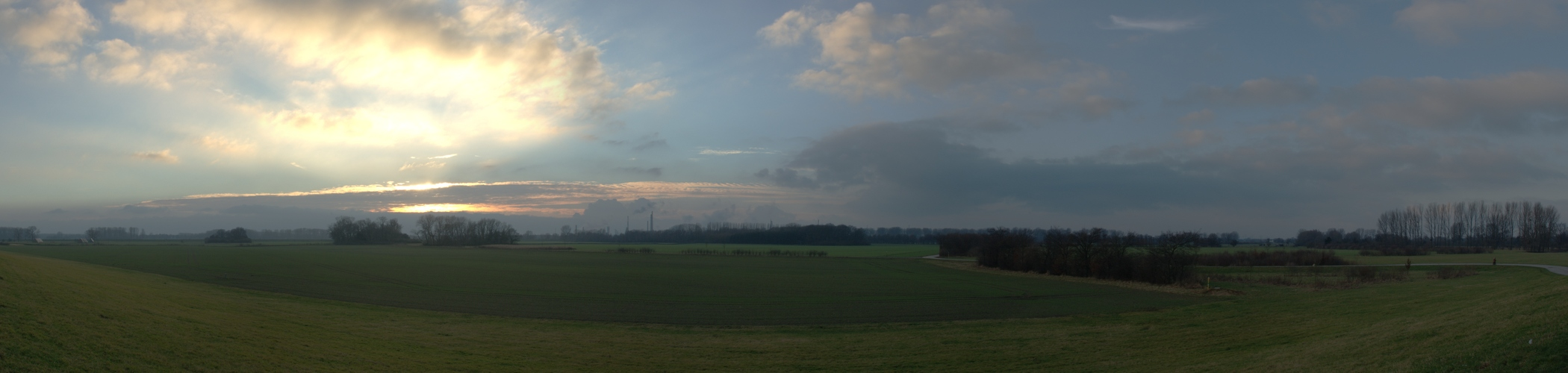 Rheindeichpanorama