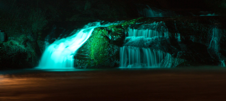 Rheinfall bei Nacht Teil2