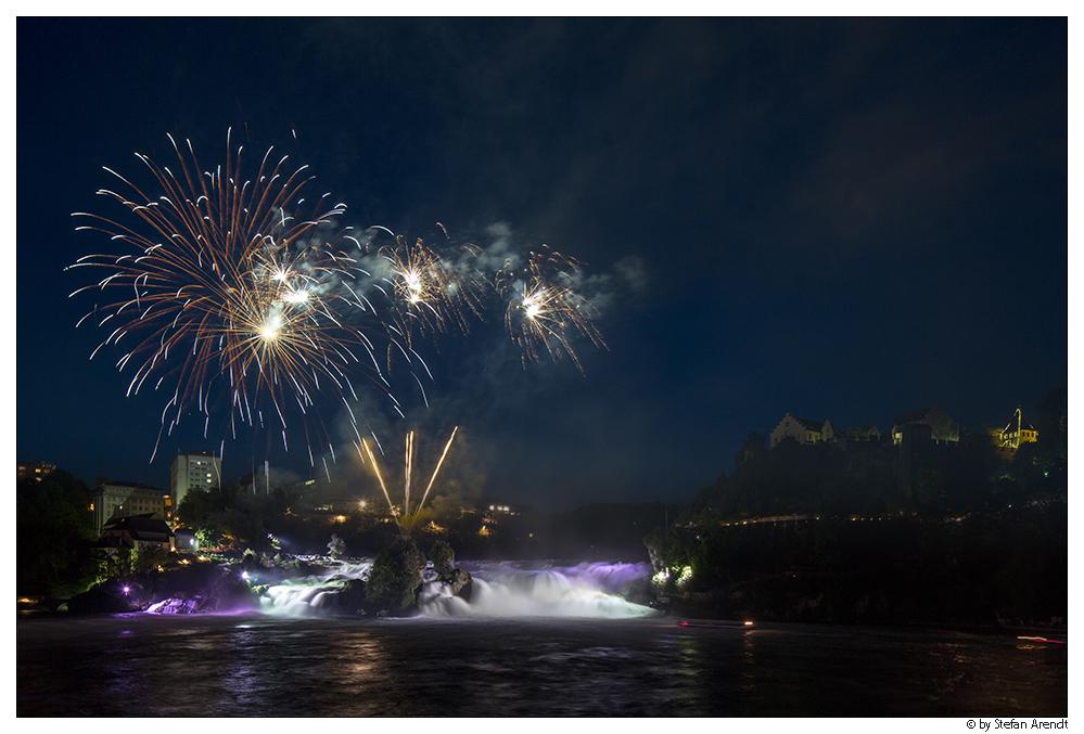 Rheinfall Feuerwerk III