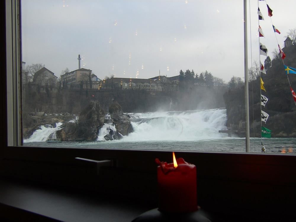 Rheinfall >> nicht als Dusche zu empfehlen