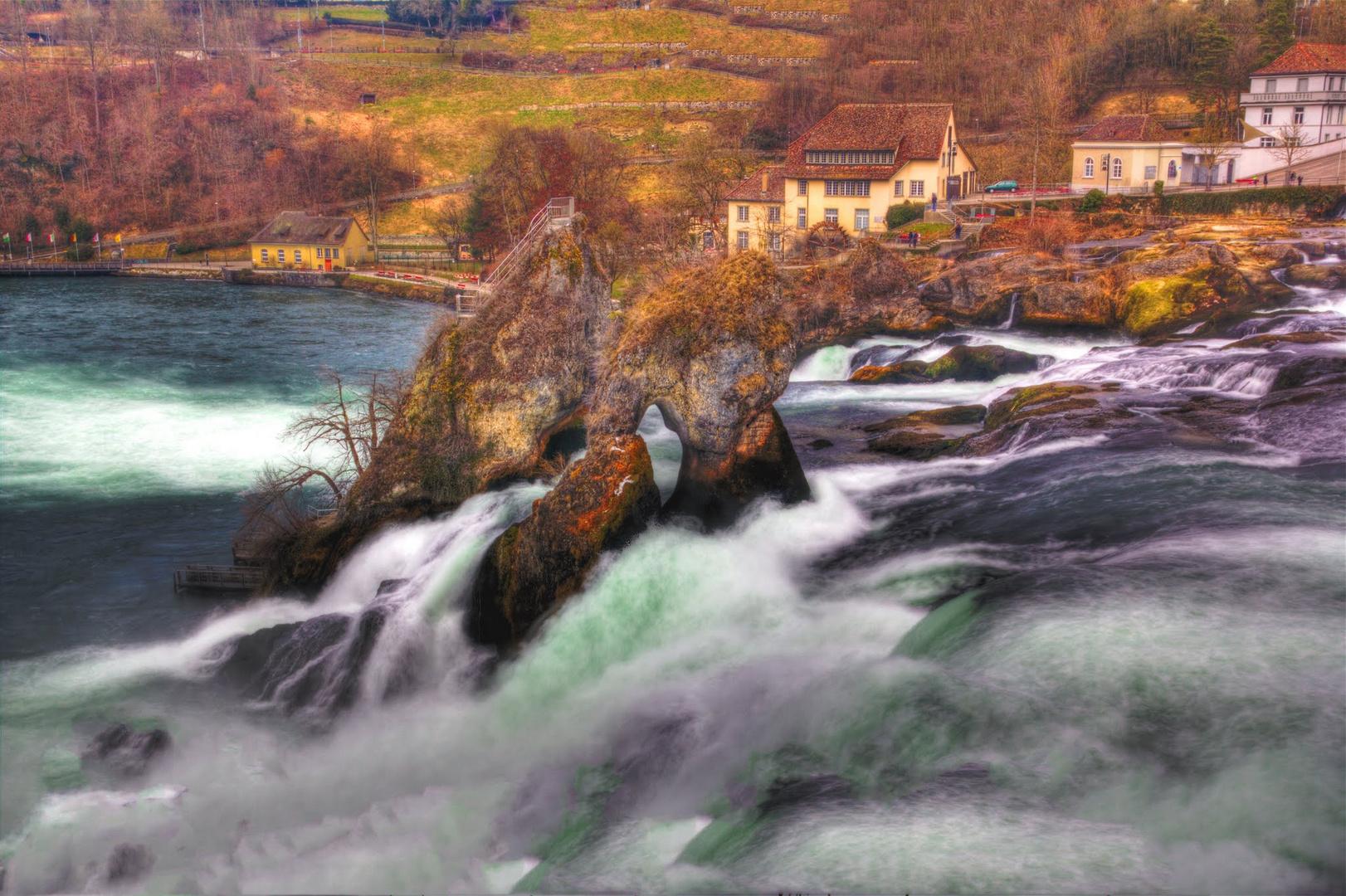 Rheinfall Schaffhausen, Schweiz