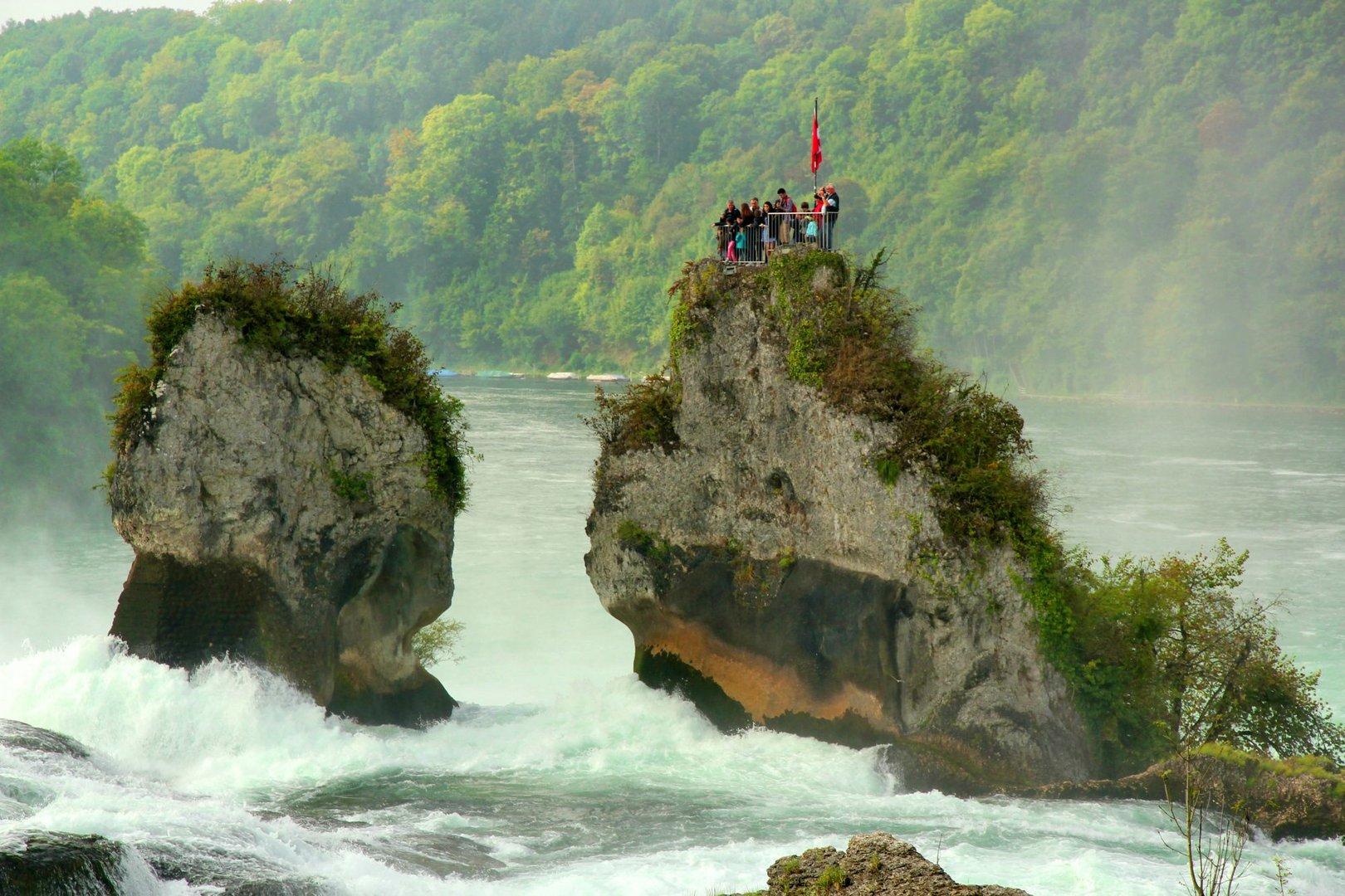 Rheinfall - Wildes Wasser