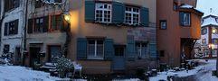 Rheinfelden zur blauen Stunde von Ulrich Kremper