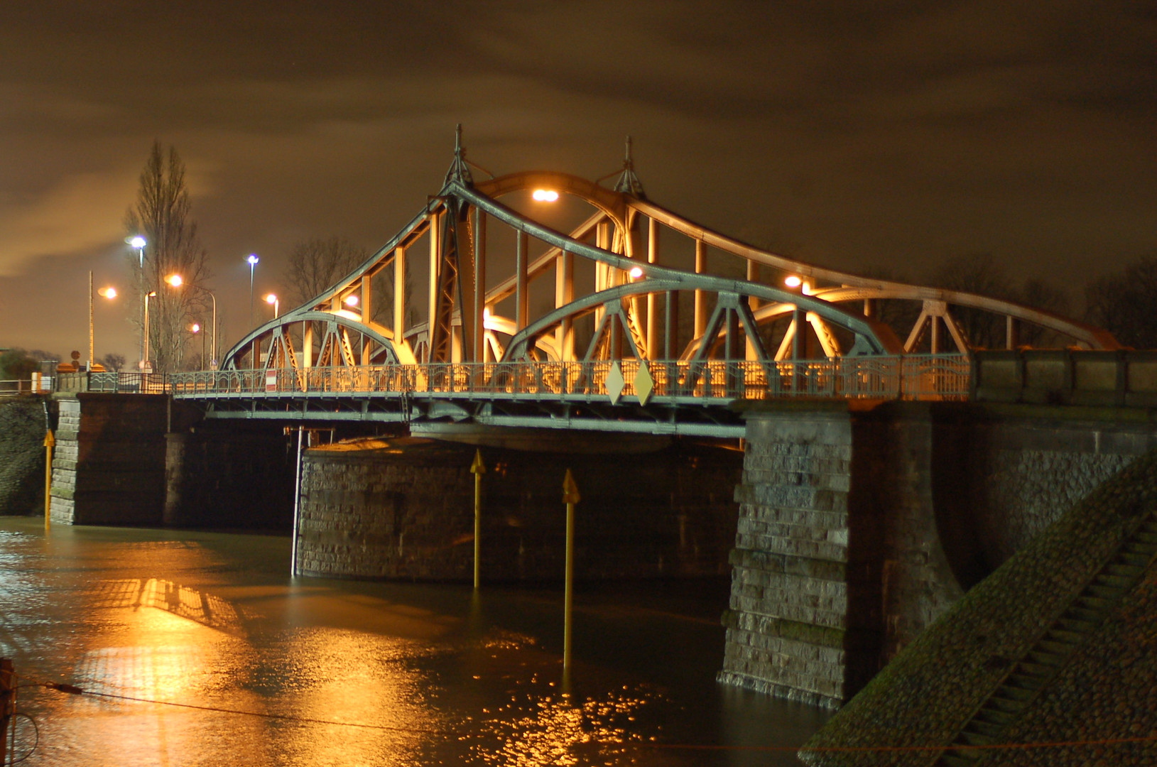 Rheinhafen Alte Drehbrücke