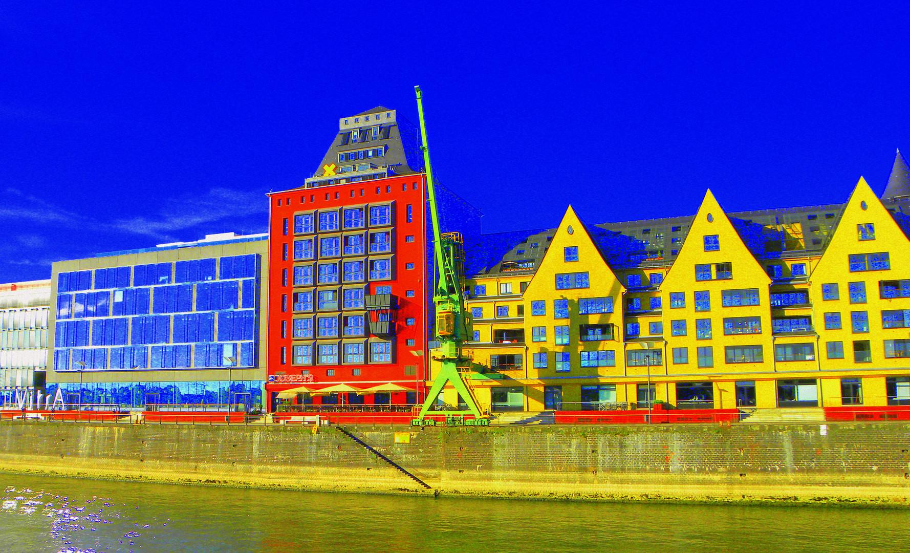 Rheinhafen bei Köln