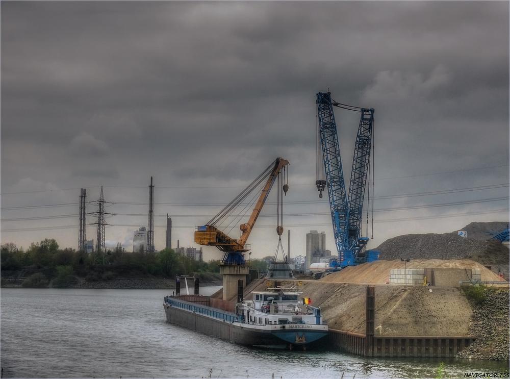 Rheinhafen krefeld - Uerdingen.