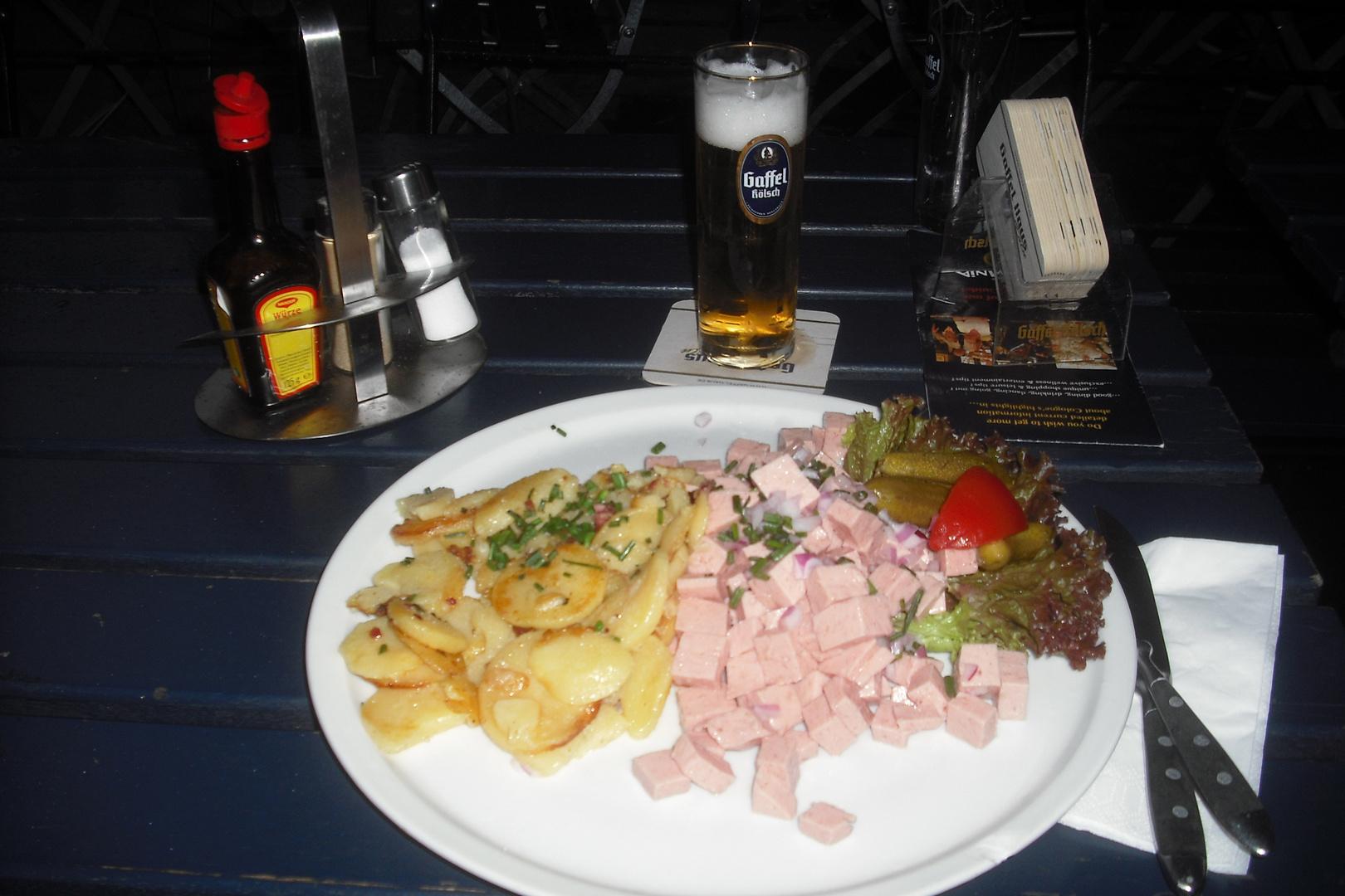 Rheinischer Wurstsalaat