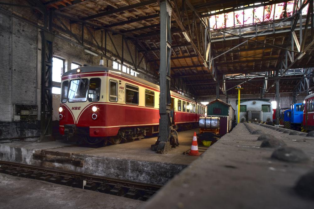 Rheinisches Industrie Museum: Triebwagen der KBE