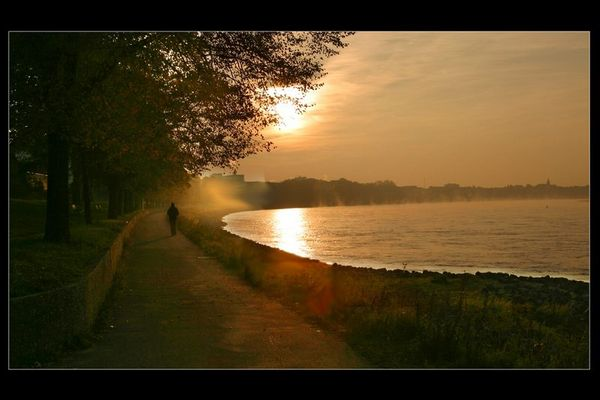 Rheinkilometer 680, 8 Uhr morgens....