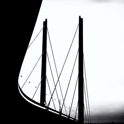 Rheinkniebrücke Düsseldorf