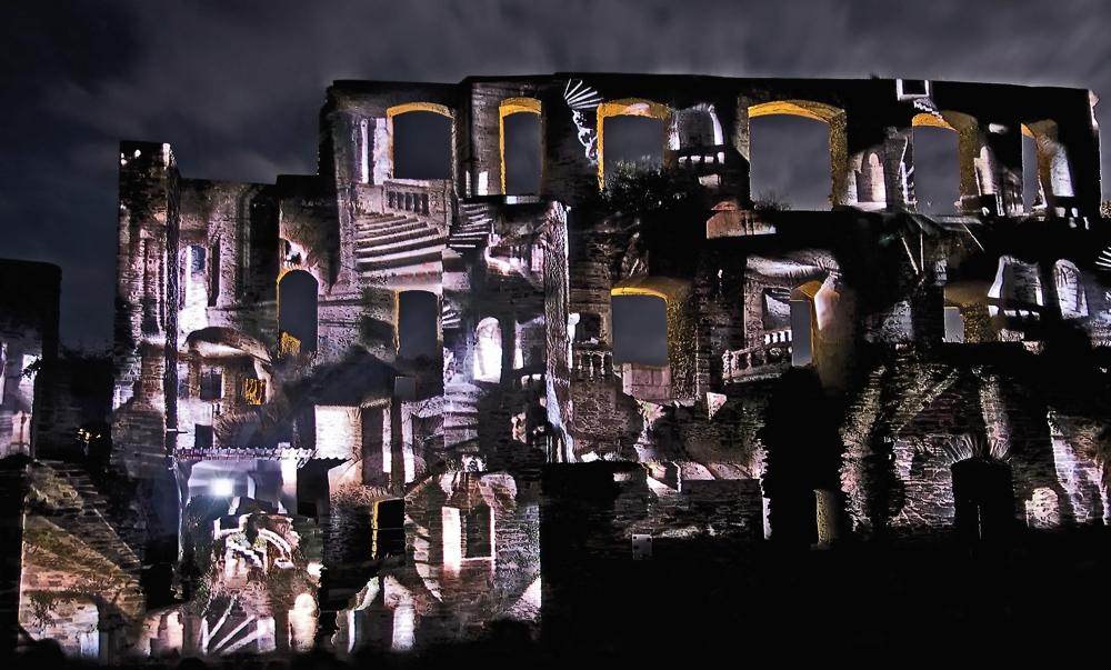 Rheinpartie: Burg Rheinfels (3)