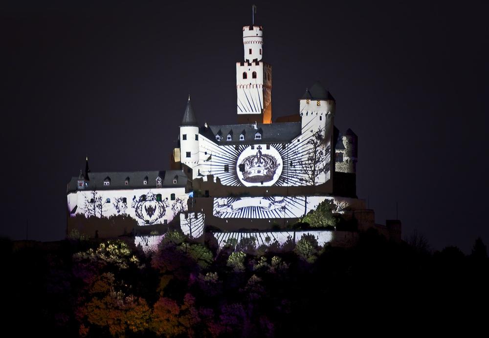 Rheinpartie: die Marksburg (2)